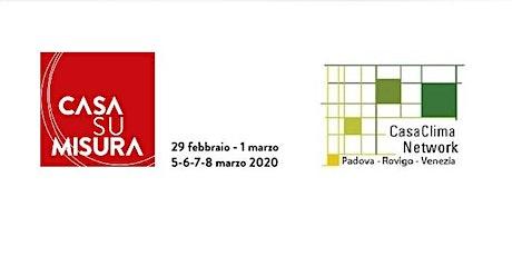 Casa su Misura-CasaClima ntw: Corso Committenti 08 Marzo 12:00-14:00 biglietti