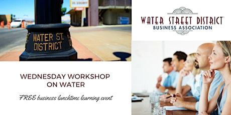2020 WSDBA April Workshop on Water  tickets