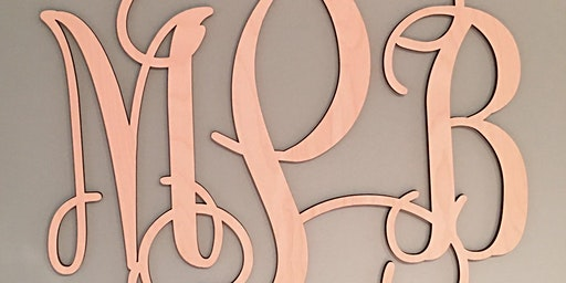 Wood Monograms and More