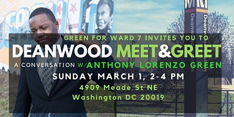Deanwood Meet and Greet with Anthony Lorenzo Green tickets