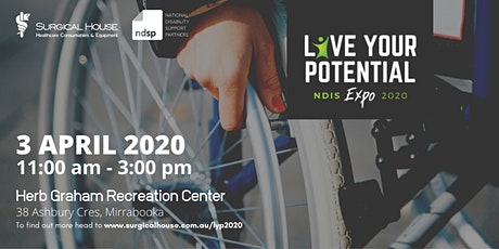 Live Your Potential - NDIS Expo 2020 tickets