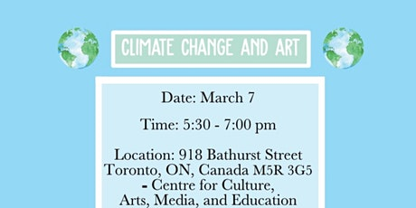 Climate Change & Art tickets