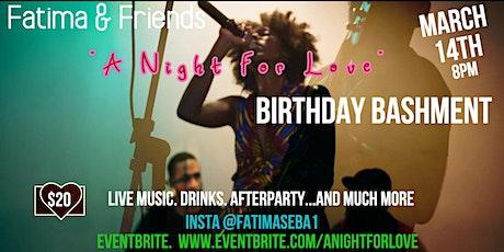 Fatima & Friends: A Night for Love tickets