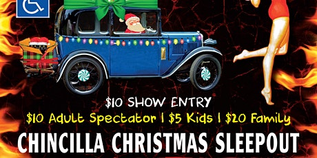 CardiGras Chinchilla Christmas Sleepout tickets