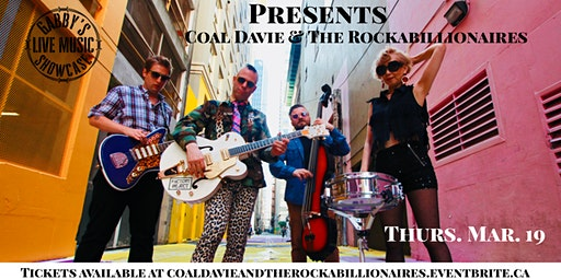 Coal Davie and The Rockabillionaires - Gabby's Live Music Showcase