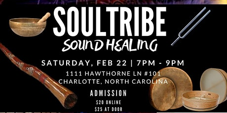 Soul Tribe Sound Healing tickets