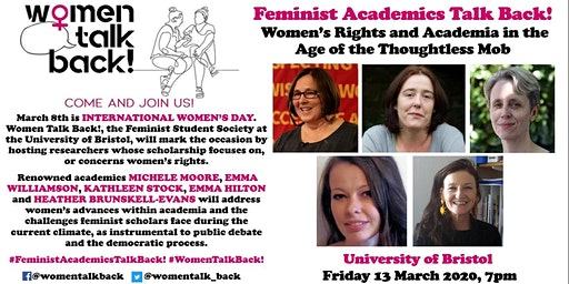 Feminist Academics Talk Back!