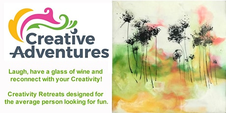 Encaustic with Pen and Ink Adventure (Wine and Nibbles incl) tickets