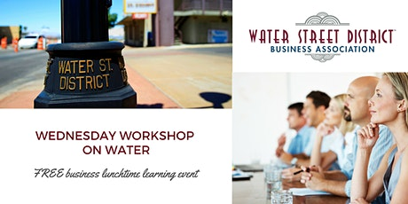 2020 WSDBA September Workshop on Water  tickets