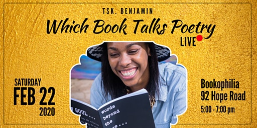 Which Book Talks Poetry LIVE