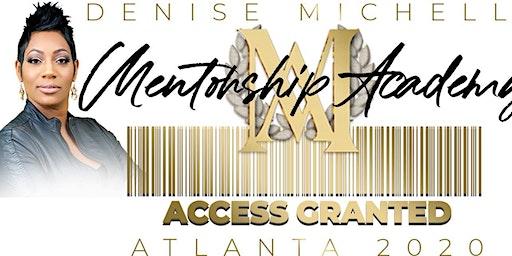 Mentorship Academy Atlanta 2020