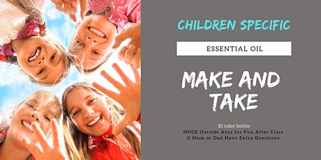 KIDS Essential Oil Make and Take Class tickets