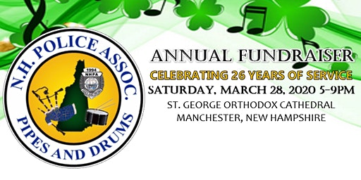 New Hampshire Police Association Pipes and Drums Annual Fundraiser Dinner
