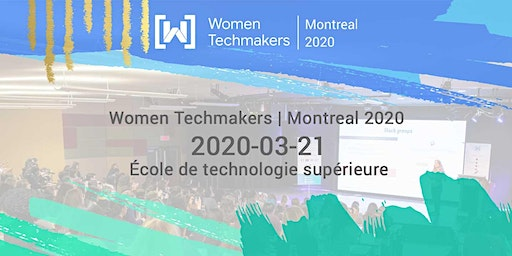 Women Techmakers Montreal IWD 2020