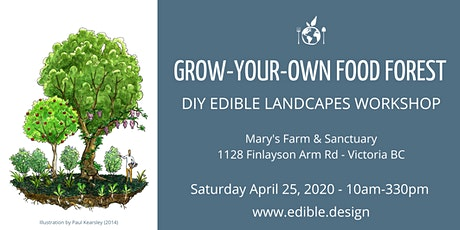 Grow-Your-Own Food Forest: DIY Edible Landscapes Workshop tickets