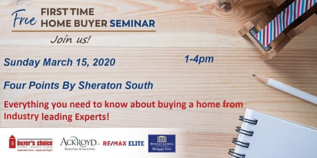 Edmonton First Time Home Buyer Information Seminar  tickets