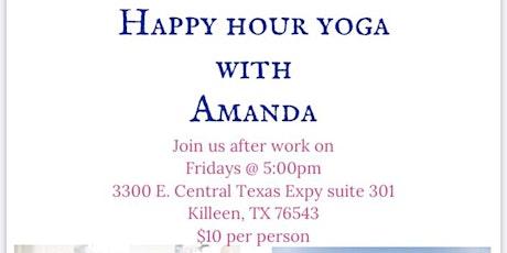 Happy Hour Yoga tickets