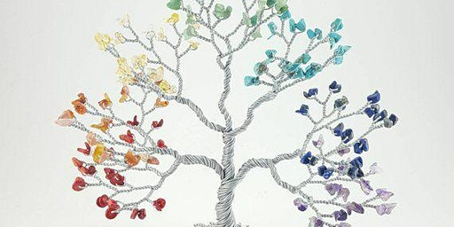 Lets Get Twisted! Chakra wire tree
