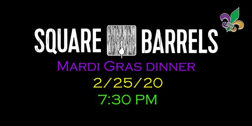 Mardi Gras Dinner