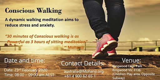 Dynamic Walking Meditation