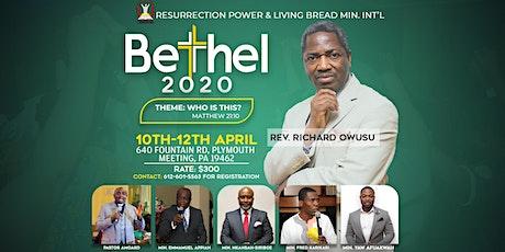 2020 Bethel Convention  tickets