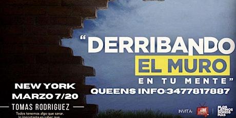 WORKSHOP -DERRIBANDO EL MURO EN TU MENTE boletos
