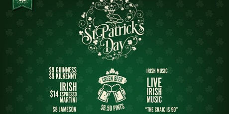 St Patrick's Day at Prince Lane tickets