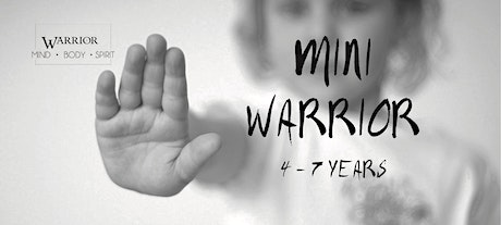 Mini Warrior Holiday Workshop (4 - 7 years) tickets
