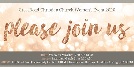 CrossRoad Christian Church Women's Ministry Event 2020