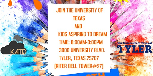 KATD and UT Tyler Arts Spring Camp
