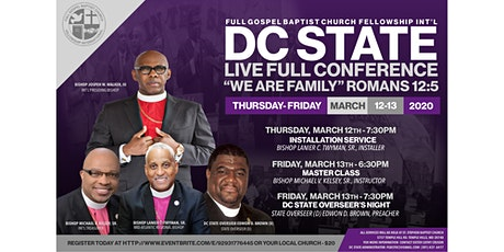 DC State LIVE FULL Conference 2020 tickets
