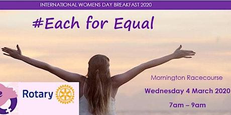 Rotary International Women's Day Breakfast 2020 tickets