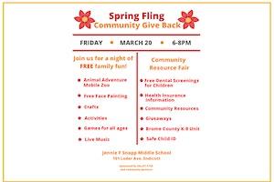 Spring Fling Community Give Back