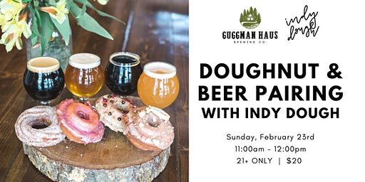 Doughnut & Beer Pairing with Indy Dough