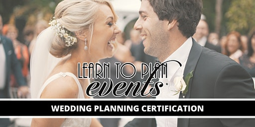 Wedding Planning Certification by LEARN TO PLAN EVENTS | Fayetteville, NC