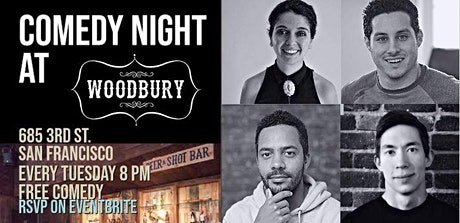Comedy Night At San Francisco's Woodbury tickets