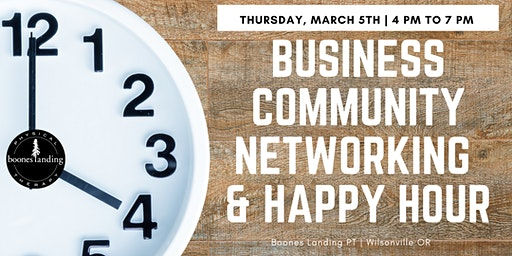 Business Community Networking Night & Happy Hour