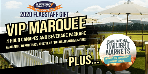 Flagstaff Gift 2020 - vip marquee