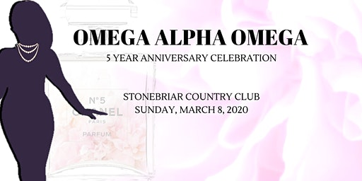 Omega Alpha Omega Chapter Anniversary Celebration