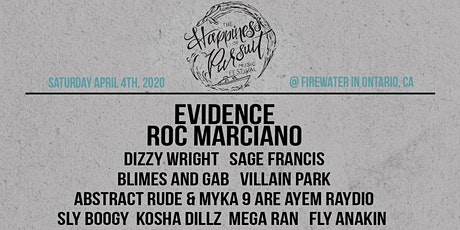 The Happiness of Pursuit Festival 2020 tickets