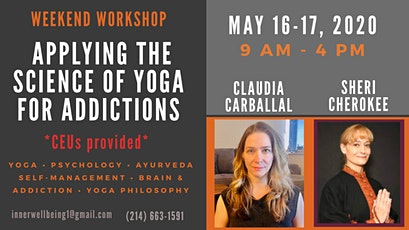 Applying the Science of Yoga for Addictions tickets
