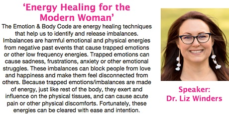 Energy Healing for the Modern Woman tickets