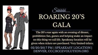 Roaring 20's Gala tickets