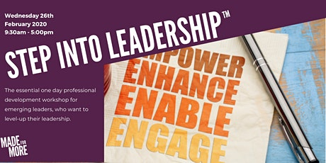 Step Into Leadership tickets
