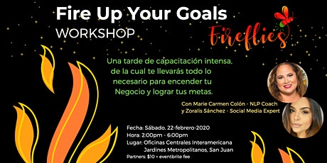 Fire Up Your Goals Workshop entradas