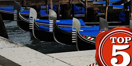 Giro in Gondola Venezia biglietti