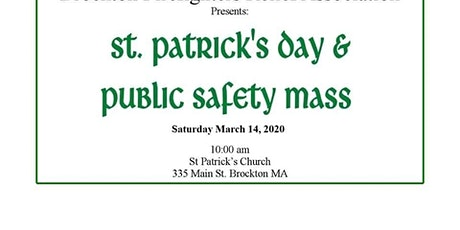 2020 St Patrick's Day & Public Safety Mass-Luncheon tickets