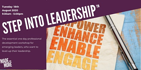 Step Into Leadership™ tickets