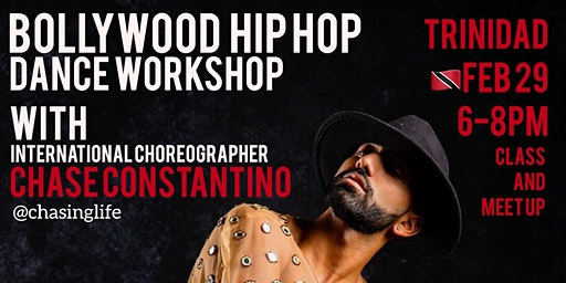Bollywood Dance Workshop with Chase Constantino