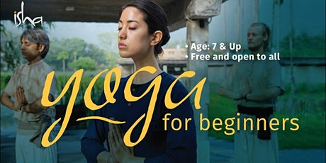 Free Yoga for Beginners tickets